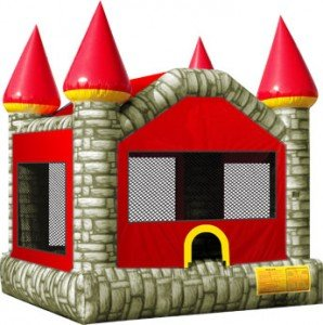 Brick Castle bounce house