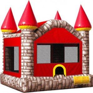 Brick Castle Bounce House