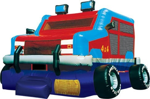 How does renting a Bounce House or Inflatable Slide work?