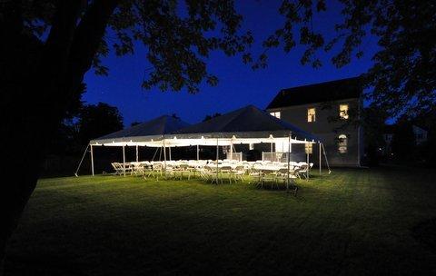 tent night rental albany ny