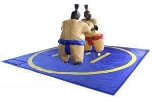 Sumo suits with mat