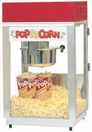 Can I rent a popcorn, sno cone or cotton candy machine?