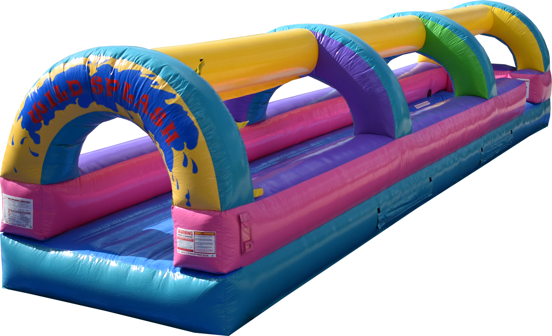 Wild Splash Slip and Slide